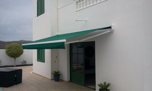 Fixed Arm Awning